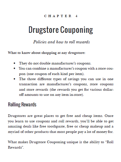 Drugstore couponing preview